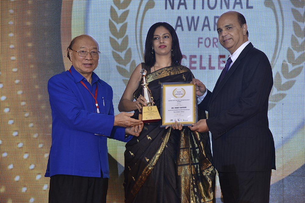 Dr. Rinky Kapoor Awarded as 'Best Dermatologist in India'