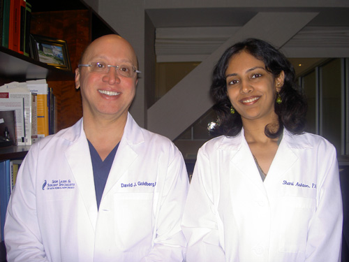 Dr. Rinky Kapoor with Dr. David Goldberg